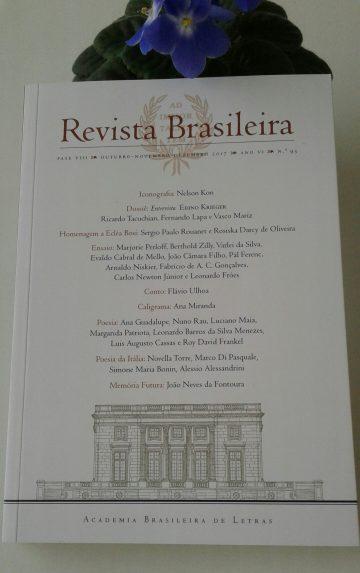 CAPA REVISTA ACADEMIA BRASILEIRA LETRAS